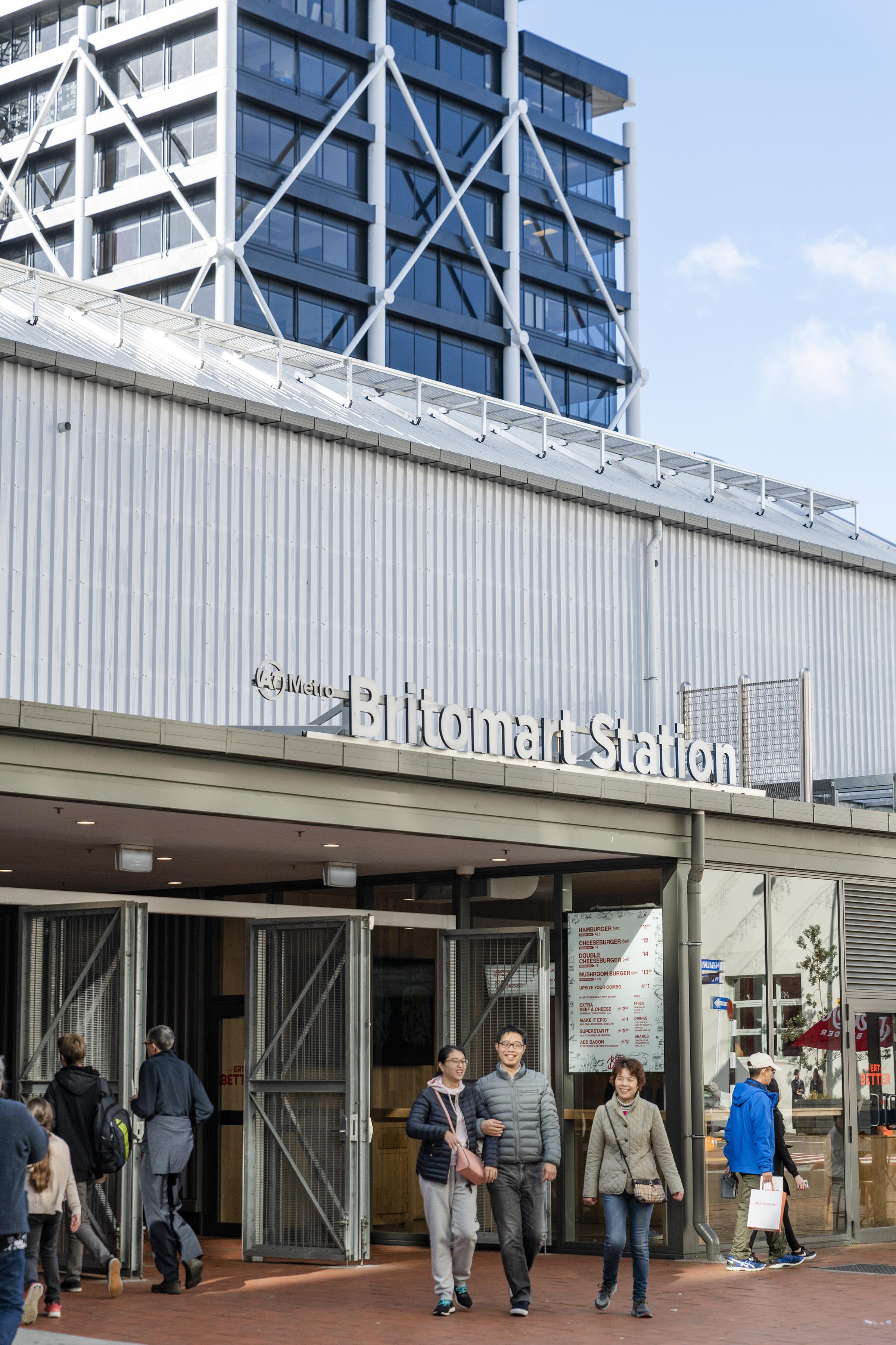 britomart station 02